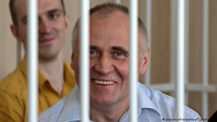 Николай Статкевич во время судебного процесса (фото из архива)