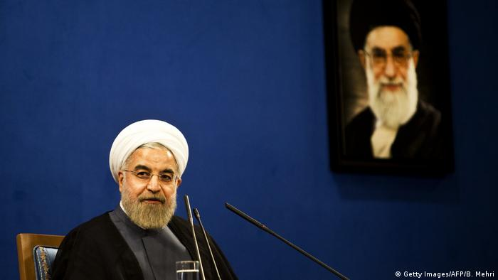 IRAN Präsident ROUHANI (Getty Images/AFP/B. Mehri)
