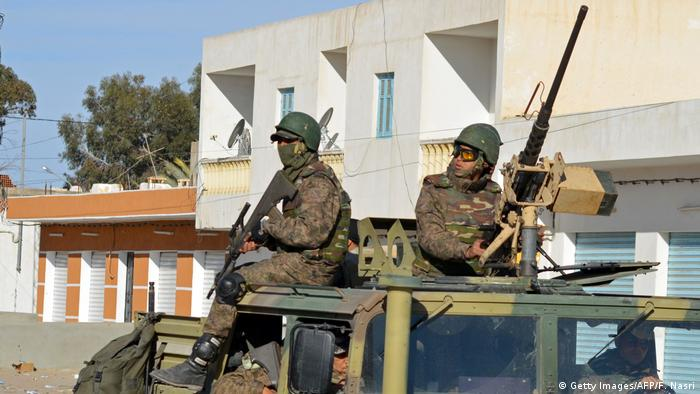 Tunesien Armee Spezialkräfte