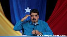 Venezuela Nicolas Maduro TV Ansprache