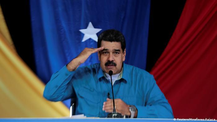 Venezuela Nicolas Maduro TV Ansprache (Reuters/Miraflores Palace)