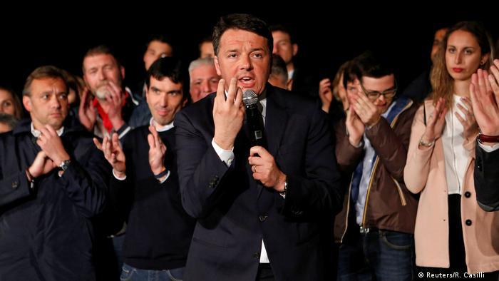 Italien Wiederwahl Matteo Renzi Partito Democratico (Reuters/R. Casilli )