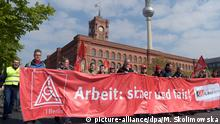 Deutschland 1. Mai in Berlin - DGB-Demonstration