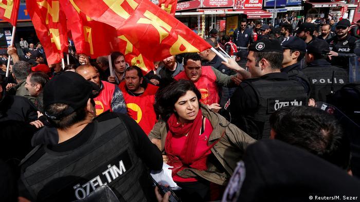 Türkei 1. Mai Demonstration in Istanbul