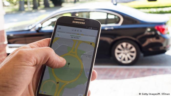 Uber Australien Canberra