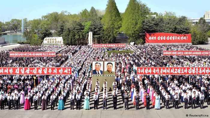 1. Mai Nordkorea (Reuters/Kcna)