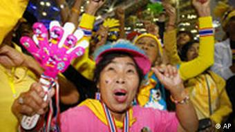 The Yellow Shirts have threatened to stage a mass demonstration against the Thai government