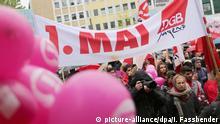 Deutschland 1. Mai in Gelsenkirchen DGB-Kundgebung