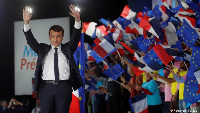 Emmanuel Macron (Reuters/P.Wojazer)