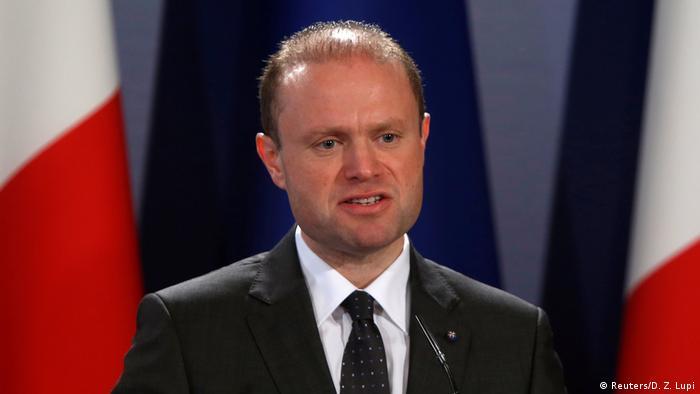 Joseph Muscat Premierminister Malta (Reuters/D. Z. Lupi)