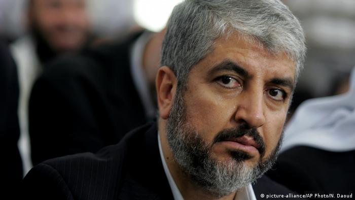 Khaled Meshaal politischer Führer der militanten palästinensischen Hamas (picture-alliance/AP Photo/N. Daoud)