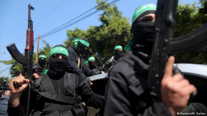 Gaza-Stadt Hamas Kämpfer