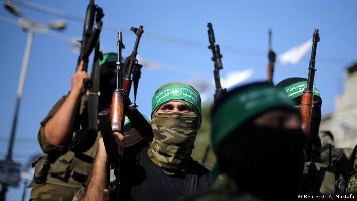 Hamasovi borci u Pojasu Gaze