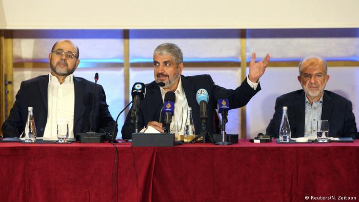 Khaled Meshaal politischer Führer der militanten palästinensischen Hamas (Reuters/N. Zeitoon)
