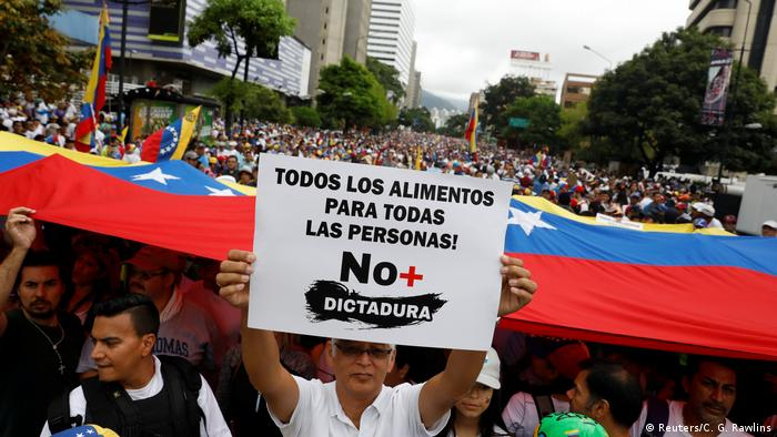 Venezuela Caracas Demonstrationen (Reuters/C. G. Rawlins)
