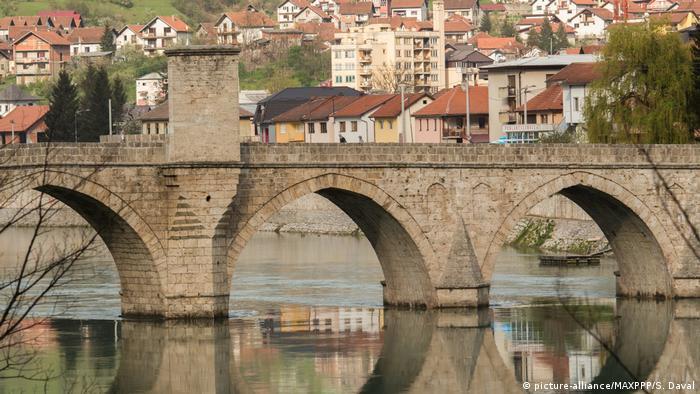 Bosnien-Herzegowina Visegrad Stadtansicht