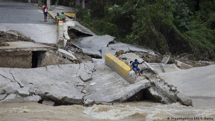 Dominikanische Republik Überflutungen (Imago/Agencia EFE/O. Barria)