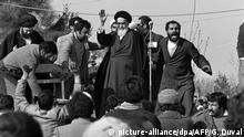 Iran Revolutionsführer Ajatollah Khomeini