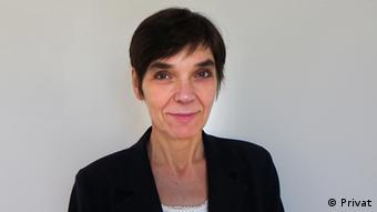 Britta Marschke, Geschäftsführerin des Vereins GIZ e.V. in Berlin