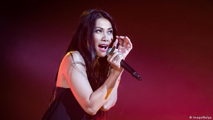 Sängerin Anggun (Imago/Belga)