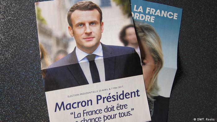 Frankreich Wahl - Presse (DW/T. Rooks )