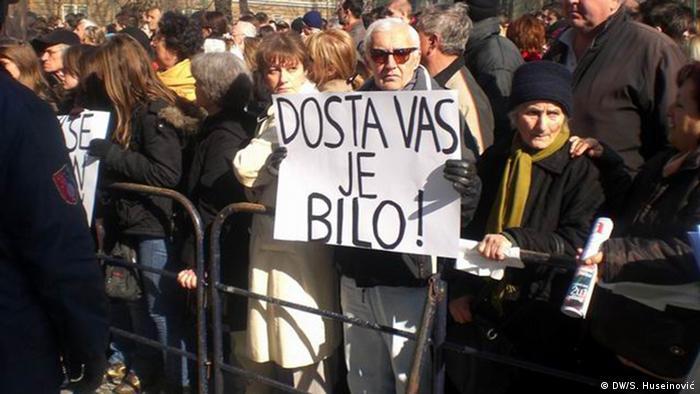 Prvosvibanjski prosvjedi u Sarajevu