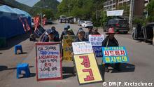 Südkorea Wahlkampf - THAAD Streitthema