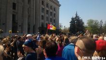 Ukraine Gedenkveranstaltung - Ausschreitungen in Odessa am 2. Mai 2014
