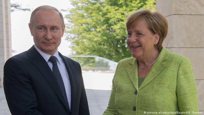 Russland | Merkel trifft Putin