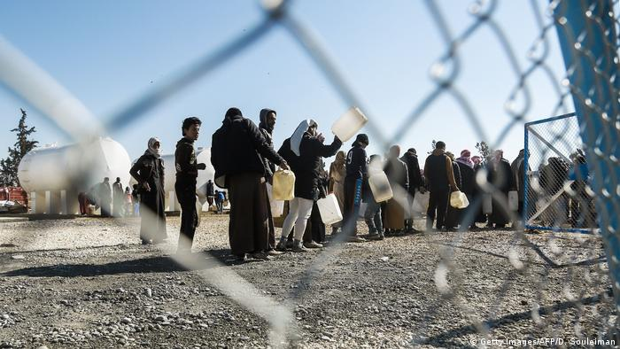Syrien | Flüchtlingslager in Hasakeh
