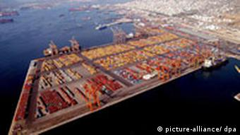 China has plans to turn Greece's largest port into a logistics hub