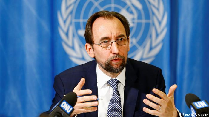 UN High Commissioner for Human Rights Zeid Ra'ad al-Hussein