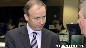 Irish Foreign Minister Micheal Martin