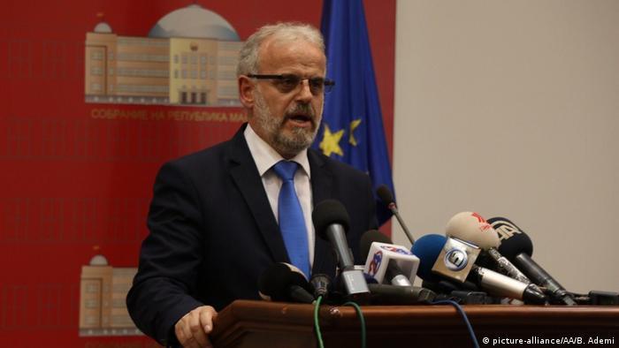 Mazedonien | Neuer Parlamentspräsident kann Amt nicht antreten | Parlamentspräsident Talat Xhaferi