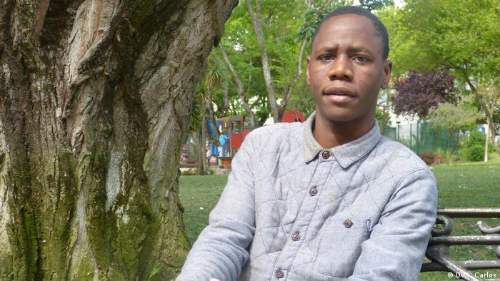 Nito Alves - Aktivist in Angola (DW/J. Carlos)