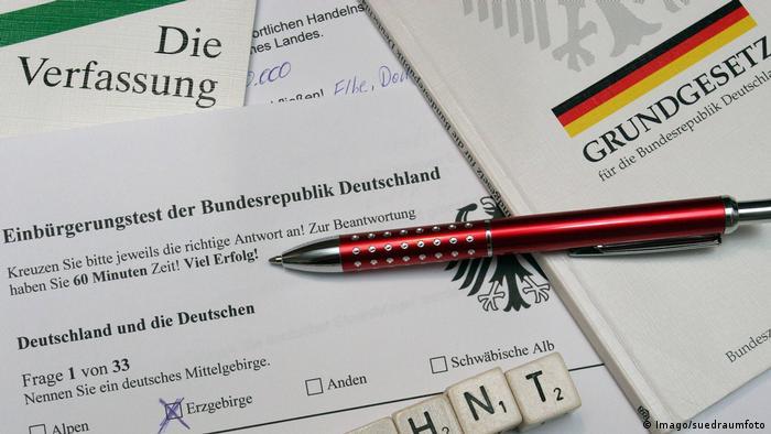 Тестът, който се полага преди получаване на германско гражданство