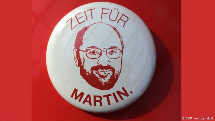 Martin Schulz Kanzlerkandidat SPD (DW/F. von der Mark)
