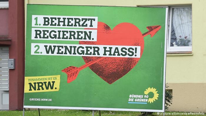 Wahlplakate - Landtagswahlen NRW 2017