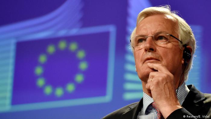 Belgien PK Michel Barnier