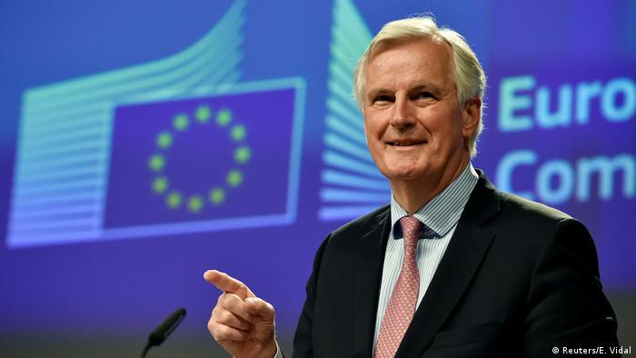 Belgien PK Michel Barnier (Reuters/E. Vidal)