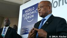 Südafrika Jacob Zuma beim World Economic Forum in Durban