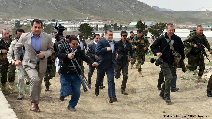 Afghanistan Journalisten (Getty Images/AFP/M. Hossaini)