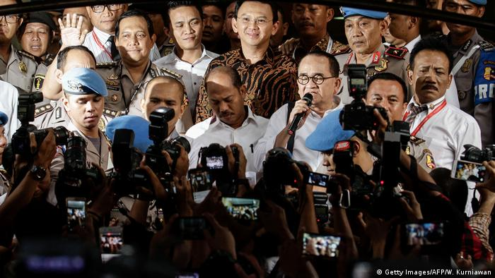 Indonesien Journalisten (Getty Images/AFP/W. Kurniawan)