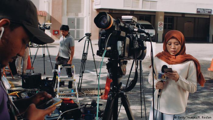 Malaysia Journalisten (Getty Images/R. Roslan)