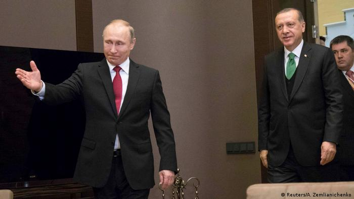 Russland Türkei - Präsidenten Putin & Erdogan in Moskau (Reuters/A. Zemlianichenko)
