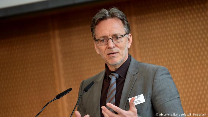 Fachtagung Cybercrime Conference C³ Holger Münch Präsident des Bundeskriminalamts, Holger Münch (picture-alliance/dpa/B. Pedersen)