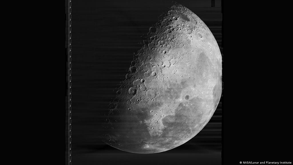 Fifty years after Lunar Orbiter 4 mapped almost all the moon