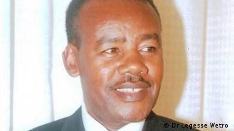 Astrophysicist Dr Legesse Wetro