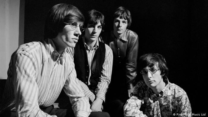The original members of Pink Floyd: Roger Waters, Syd Barrett, Richard Wright, Nick Mason (Pink Floyd Music Ltd )