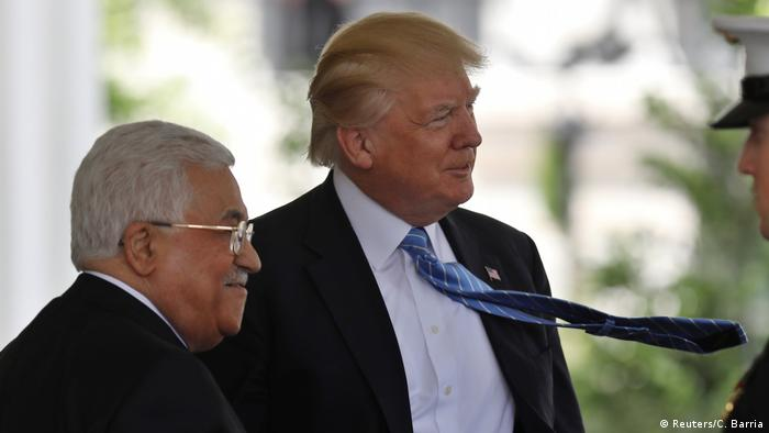 USA Mahmud Abbas & Donald Trump in Washington (Reuters/C. Barria)